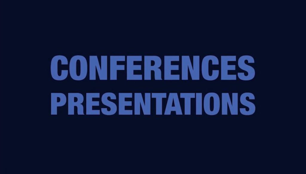 Conferences and Presentations